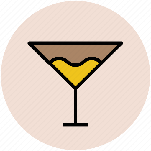 alcohol, cocktail, drink, glass, margarita, martini, wine glass icon
