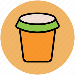 coffee cup, disposable cup, juice cup, paper cup, takeaway coffee icon