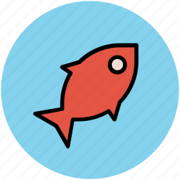 fish, food, healthy diet, healthy eating, seafood icon
