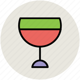 alcohol, cocktail, drink, glass, juice, margarita, wine glass icon