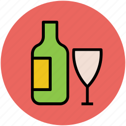 alcohol, alcoholic drink, beverage, drink, drink bottle, glass, wine icon