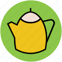 kettle, tableware, tea flask, tea pot, teakettle, teapot icon