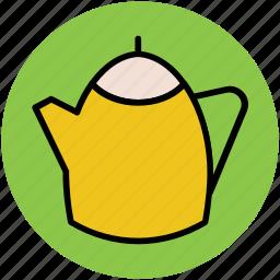 kettle, tableware, tea flask, tea pot, teakettle, teapot icon