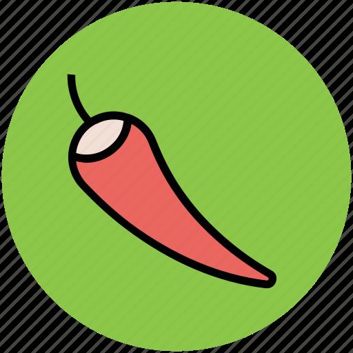 chili, chilli pepper, food, paprika, pepper, spice icon