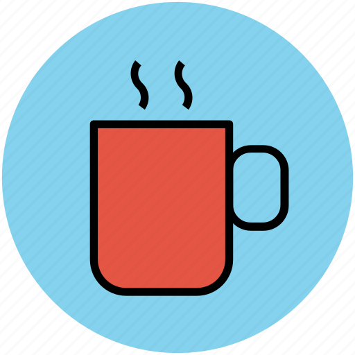 coffee, coffee mug, cup, drink, hot tea, tea cup icon