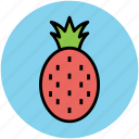 ananas, ananas comosus, diet, food, fruit, pineapple icon