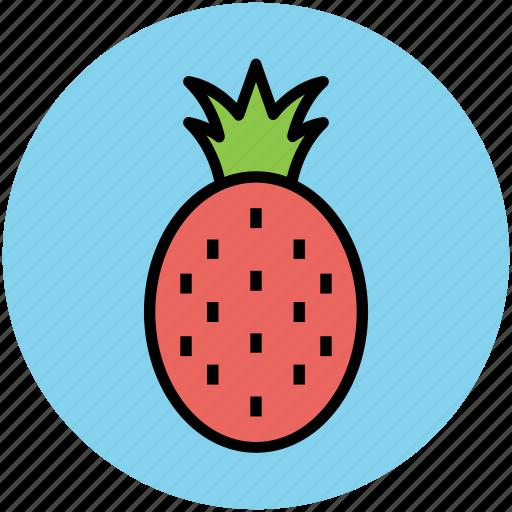 ananas, ananas comosus, diet, food, fruit, pineapple icon