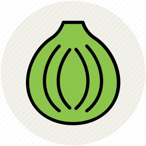 bulb onion, common onion, diet, food, onion, vegetable icon