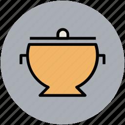 braising pans, casserole pans, cooking pan, cooking pot, cookware, saucepan icon