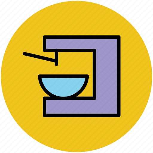 coffee machine, coffee maker, coffee shop, tea machine icon
