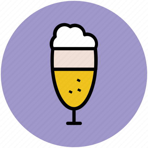 ale, ale glass, chilled beer, drink, drink glass, glass icon
