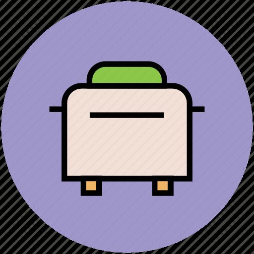 electronics, kitchen appliance, sandwich toaster, toast machine, toaster icon