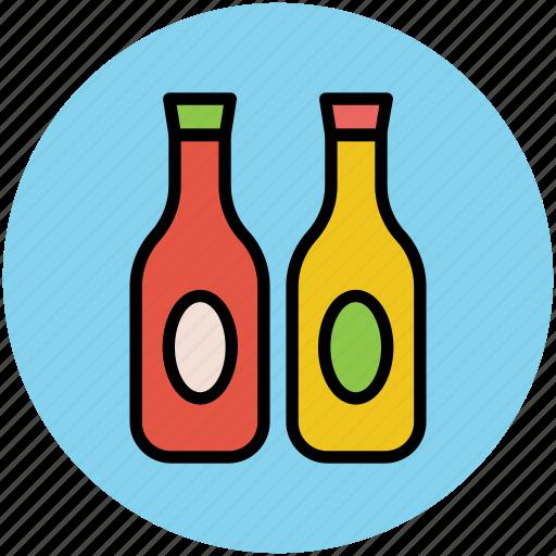 alcohol bottles, bottles, drink bottles, liquor bottles, wine bottles icon