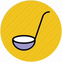 cooking utensil, dipper, kitchen, ladle, spoon, utensil icon