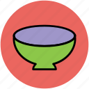 bowl, food bowl, meal, platter, soup, soup bowl, spoon icon