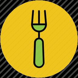cutlery, eating, flatware, fork, tableware, utensil icon