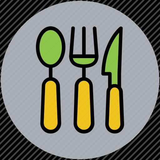 cutlery, flatware, kitchenware, knife, spoon, utensil icon