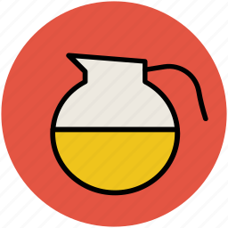carafe, ewer, jug, pitcher, water container, water jug icon