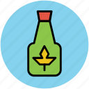 bottle, herbal oil, liquor bottle, oil bottle, olive oil icon