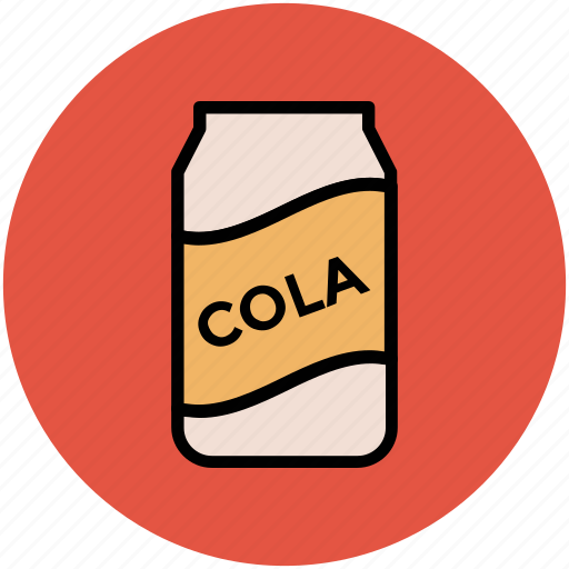 coke tin, cola, cola can, drink, soda icon