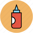 food dressing, ketchup bottle, kitchen accessories, mustard bottle, sauce bottle icon