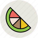 citrus, diet, food, fruit, healthy food, lemon, lemon slice, lime icon