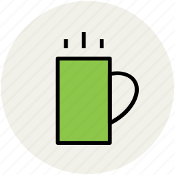 coffee, coffee mug, cup, drink, hot tea, mug, tea cup icon