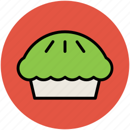 baked food, cupcake, fairy cake, muffin, pie icon