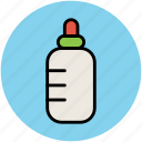 baby bottle, baby feeder, baby food, feeding bottle icon