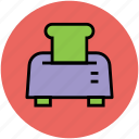 electronics, kitchen appliance, sandwich toaster, toast machine, toaster icon