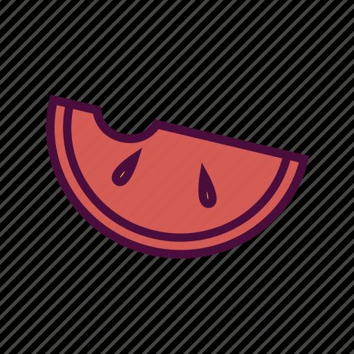 diet, food, fruit, healthy food, slice, summer fruit, watermelon icon