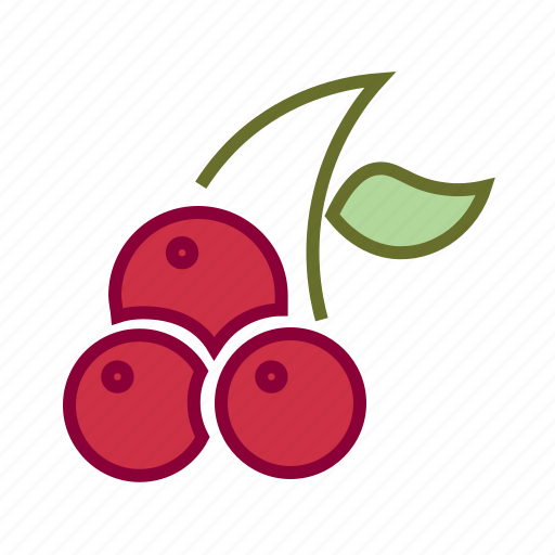 berry, cherries, cherry, food, fruits, thanksgiving icon