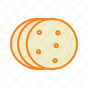 bakery, biscuit, cookie, cookies, dessert, food, snacks icon