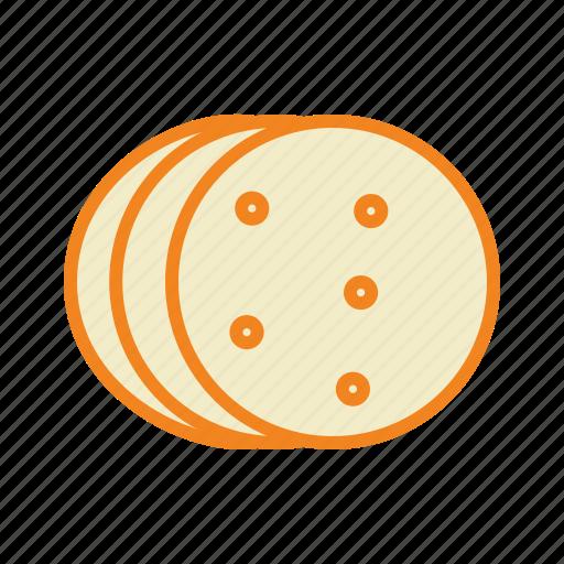bakery, biscuit, cookie, cookies, dessert, food, snacks icon