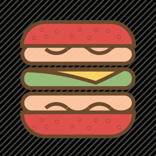 burger, cheese burger, fastfood, food, hamburger, junk food icon