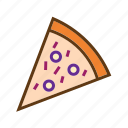 eating, fastfood, food, italian food, junk food, pizza, restaurant icon