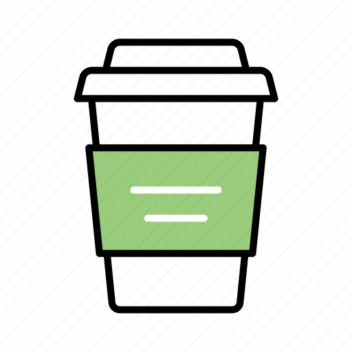 coffee, coffee cup, drink, hot, hot beverage, takeaway icon