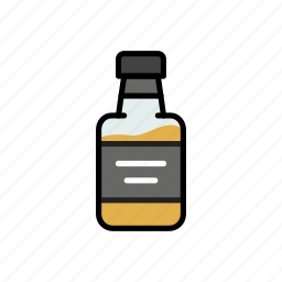 alcohol, booze, drink, glass, liquor, on the rocks, whiskey icon