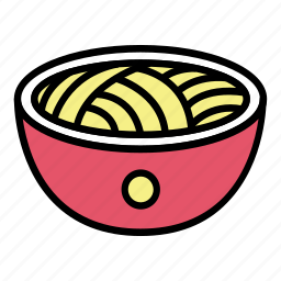 bowl, breakfast, chinese food, food, mie, noodle, ramen icon