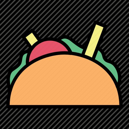 breakfast, fast food, food, meal, meat, restaurant, sandwich icon