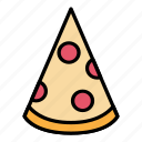 breakfast, fast food, food, italia, meal, pizza, restaurant icon