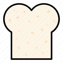 bread, breakfast, food, health, healthy, meal, wheat bread icon