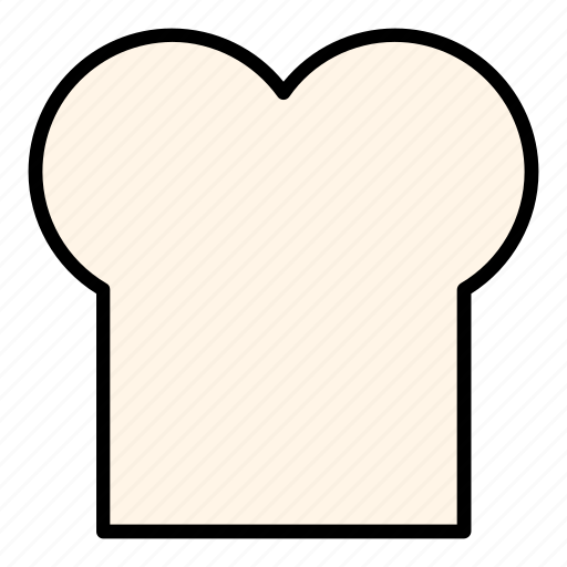 bread, breakfast, dessert, food, healthy, meal, wheat bread icon