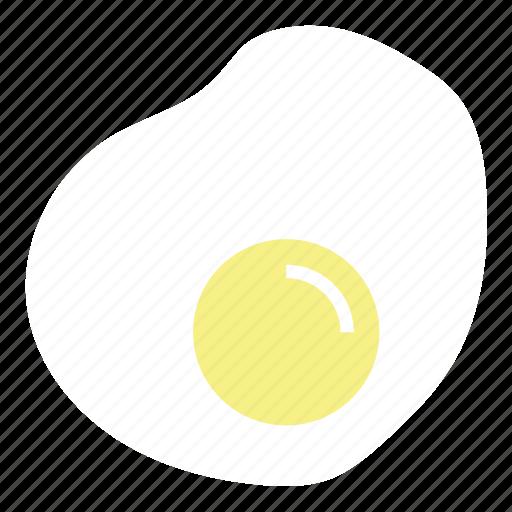breakfast, egg, food, fried egg, omlette, scramble egg icon