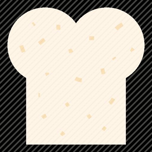 bread, breakfast, food, wheat bread icon