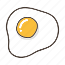 burger, egg, fast food, food, meat, pizza icon