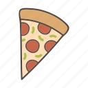 bread, burger, fast food, food, meat, pizza icon