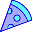 eat, fast food, food, italian, italian food, pizza, slice icon