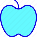 apple, dessert, fresh, fruit, healthy, iphone, sweet icon