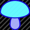 cook, cooking, food, meal, mushroom, vegetable, vegetarian icon